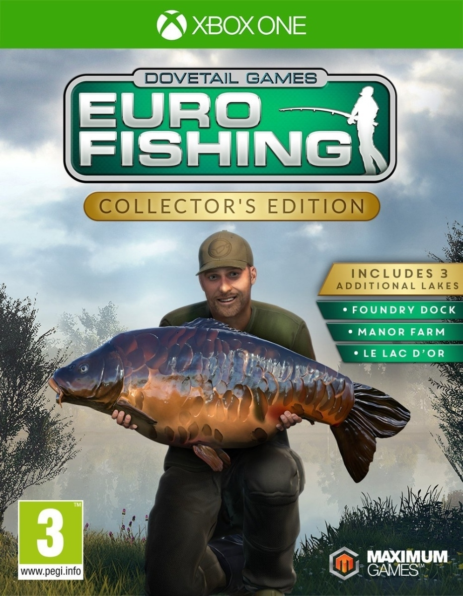 Euro Fishing Collectors Edition (Xbox One)
